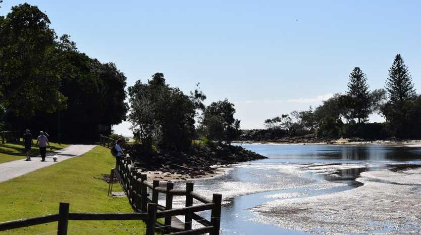Walk along the river at Evans Head.