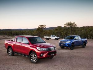 Toyota HiLux is the nation's top seller