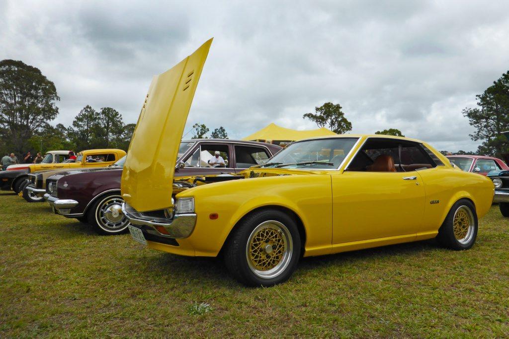 1977 Toyota Celica at the Combined Coastal Car Club car show at Cooroy. Photo: Iain Curry / Sunshine Coast Daily
