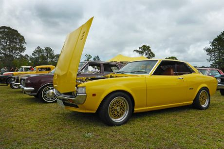 1977 Toyota Celica at the Combined Coastal Car Club car show at Cooroy. Photo: Iain Curry / Sunshine Coast Daily