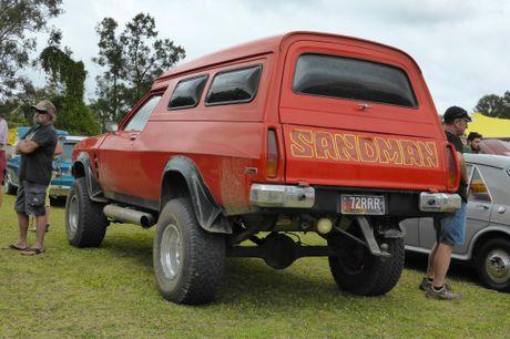 Sandman subtlety at the Combined Coastal Car Club car show at Cooroy. Photo: Iain Curry / Sunshine Coast Daily