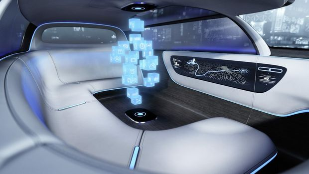 Mercedes-Benz Vision Tokyo concept vehicle. Photo: Contributed