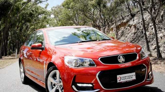 Introducing the all new Holden SS Series II VFII Commodore, exclusive to Lawrence's Holden. Photo Tamara MacKenzie / The Morning Bulletin