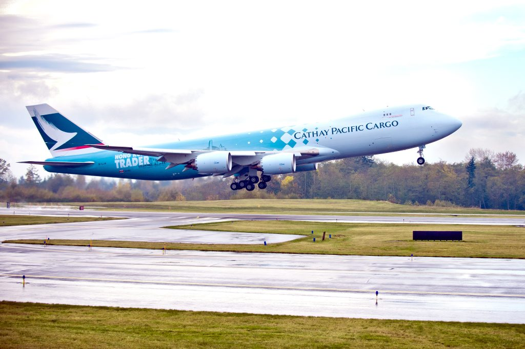 A Cathay Pacific Airways Boeing 747-800F is coming to Wellcamp Airport.