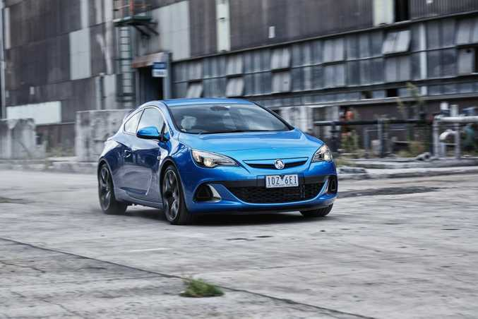 HOLDEN'S FUTURE: New models like the Astra VXR will lead Holden into a new future without Australian manufacturing.