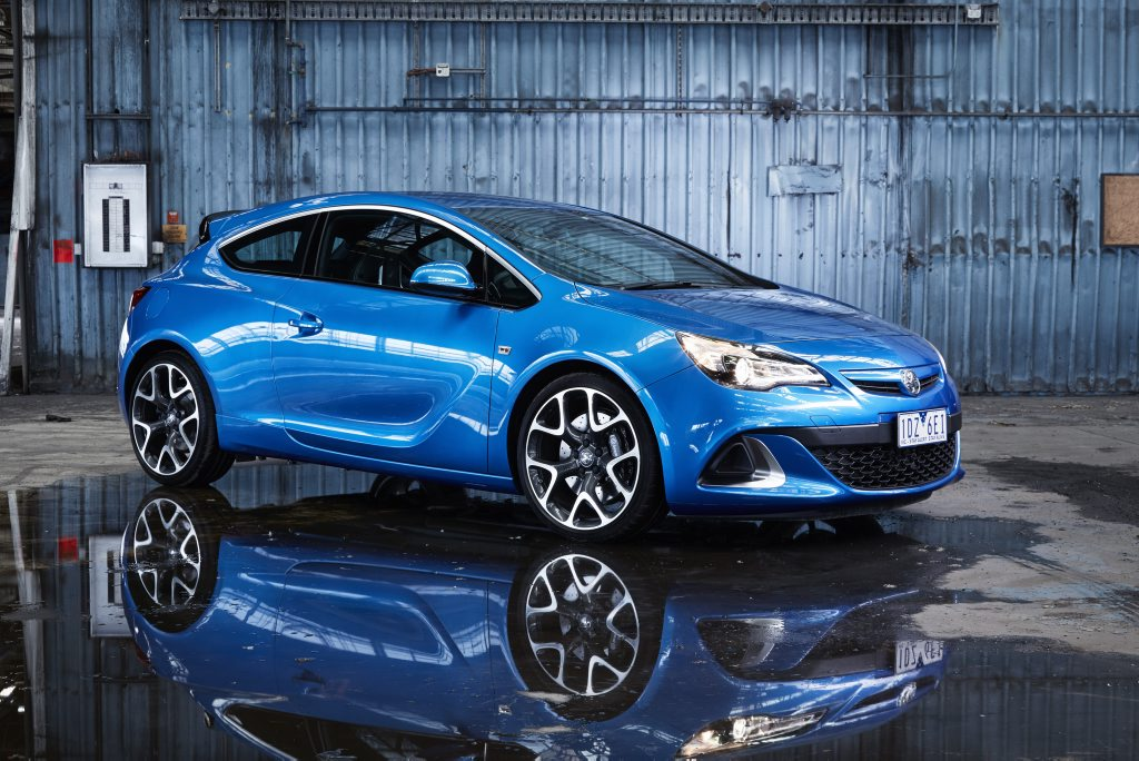 Holden's European pin-up, the Astra VXR.