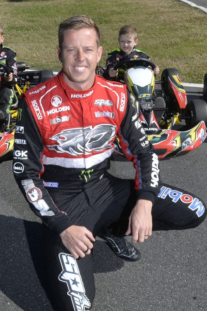 Holden Racing Team's James Courtney.
