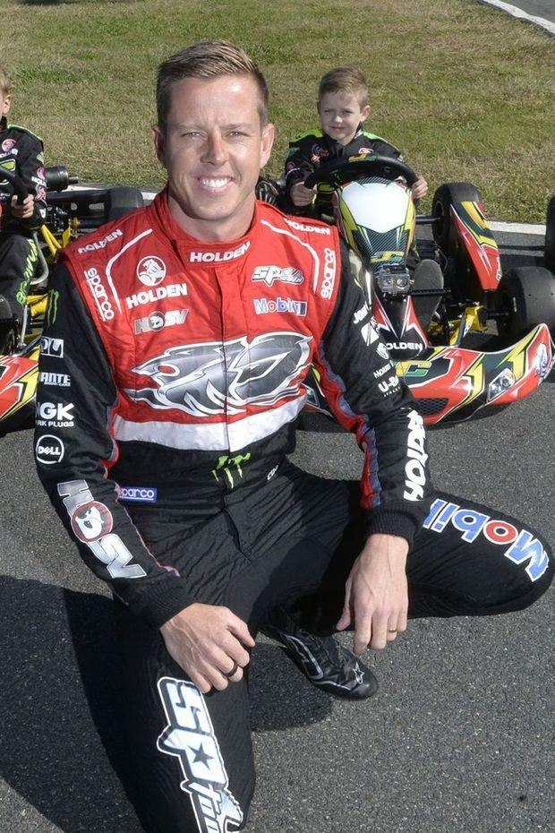 Holden Racing Team's James Courtney.