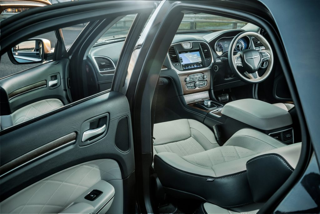 The Chrysler 300C.