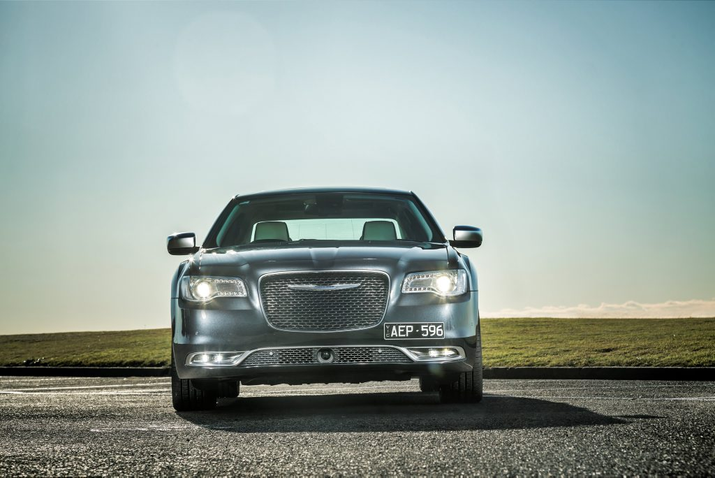 HEY BIG BOY: Chrysler 300C Luxury has the distinctive wide-appeal look that has secured a loyal following.