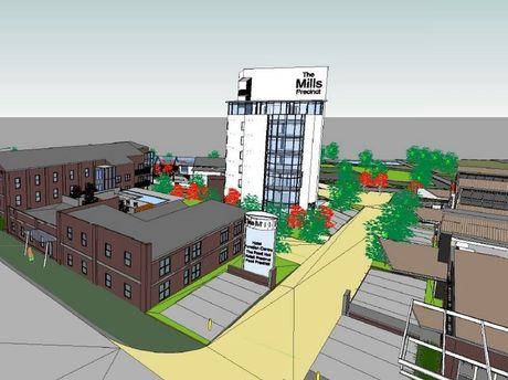 The Mills Precinct will transform the city's CBD.