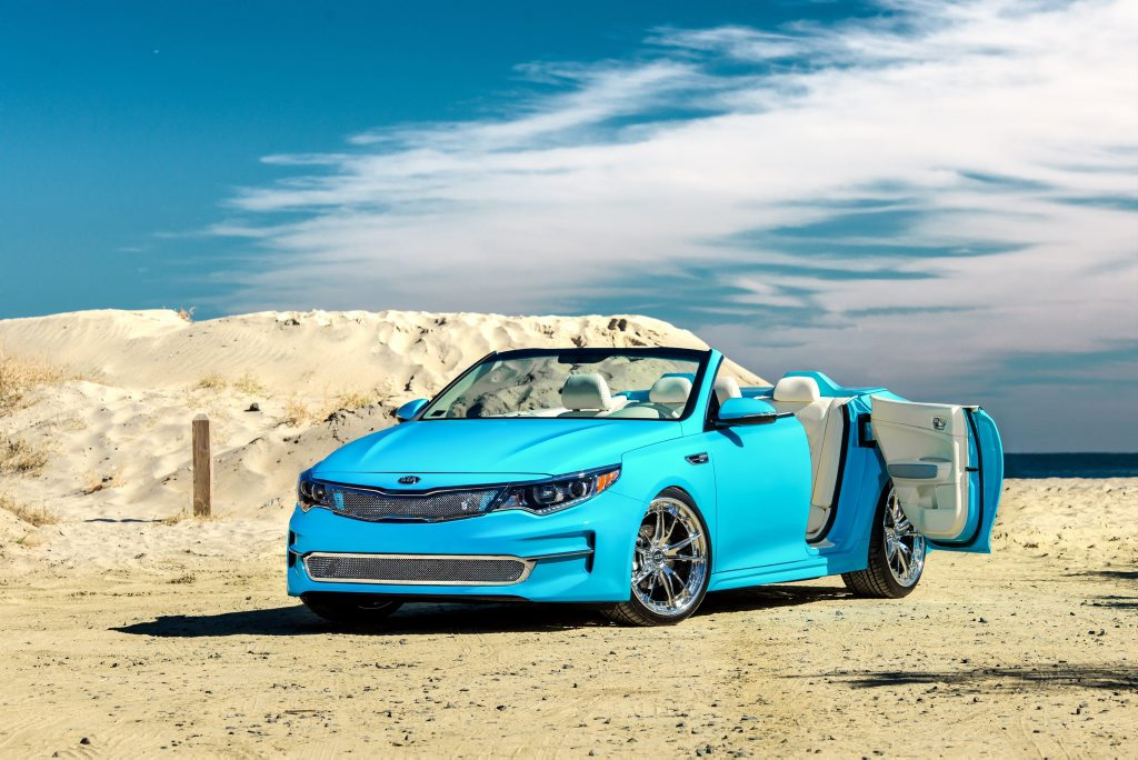 Kia A1A Optima Concept from the SEMA Show 2015. Photo: Contributed
