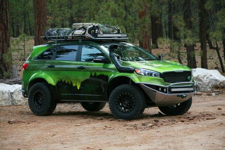 Kia PacWest Adventure Sorento from the SEMA Show 2015. Photo: Contributed
