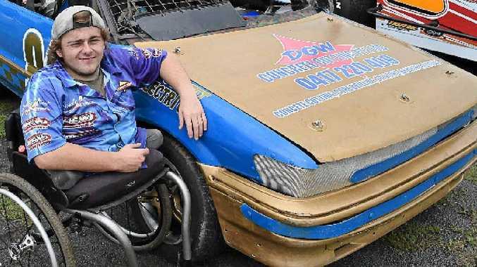 Ballina driver Luke Watt is looking forward to the Lismore speedway season.