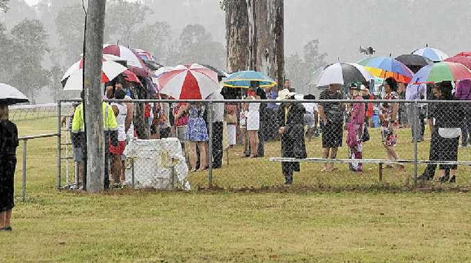 It was a rainy day for the Tabulam races in 2012. Could it be the same this year?