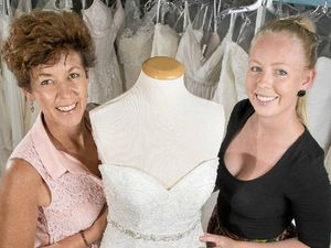 Fresh look as Gladstone Bridal boutique passes to daughter
