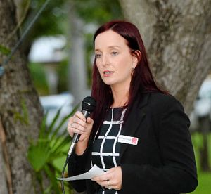 WATER SECURITY: Keppel MP Brittany Lauga says her office has not been contacted by Capricornia MP Michelle Landry's to discuss water storage projects.