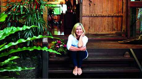 Olivia's home away from home is Gaia, a Northern Rivers health retreat she co-owns.