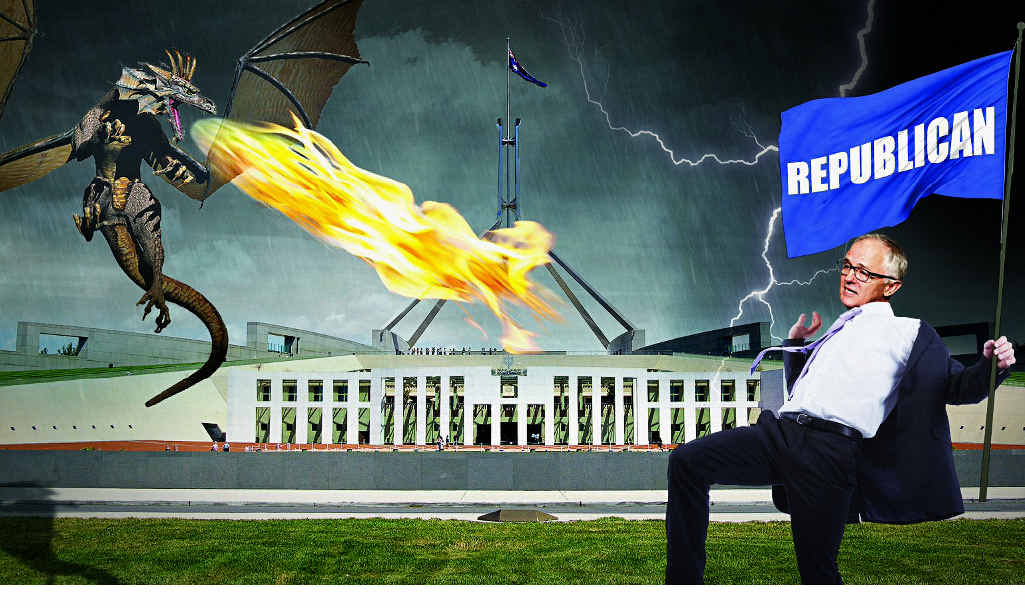 Turnbull gets rid of knights, dragon invasion soon follows.