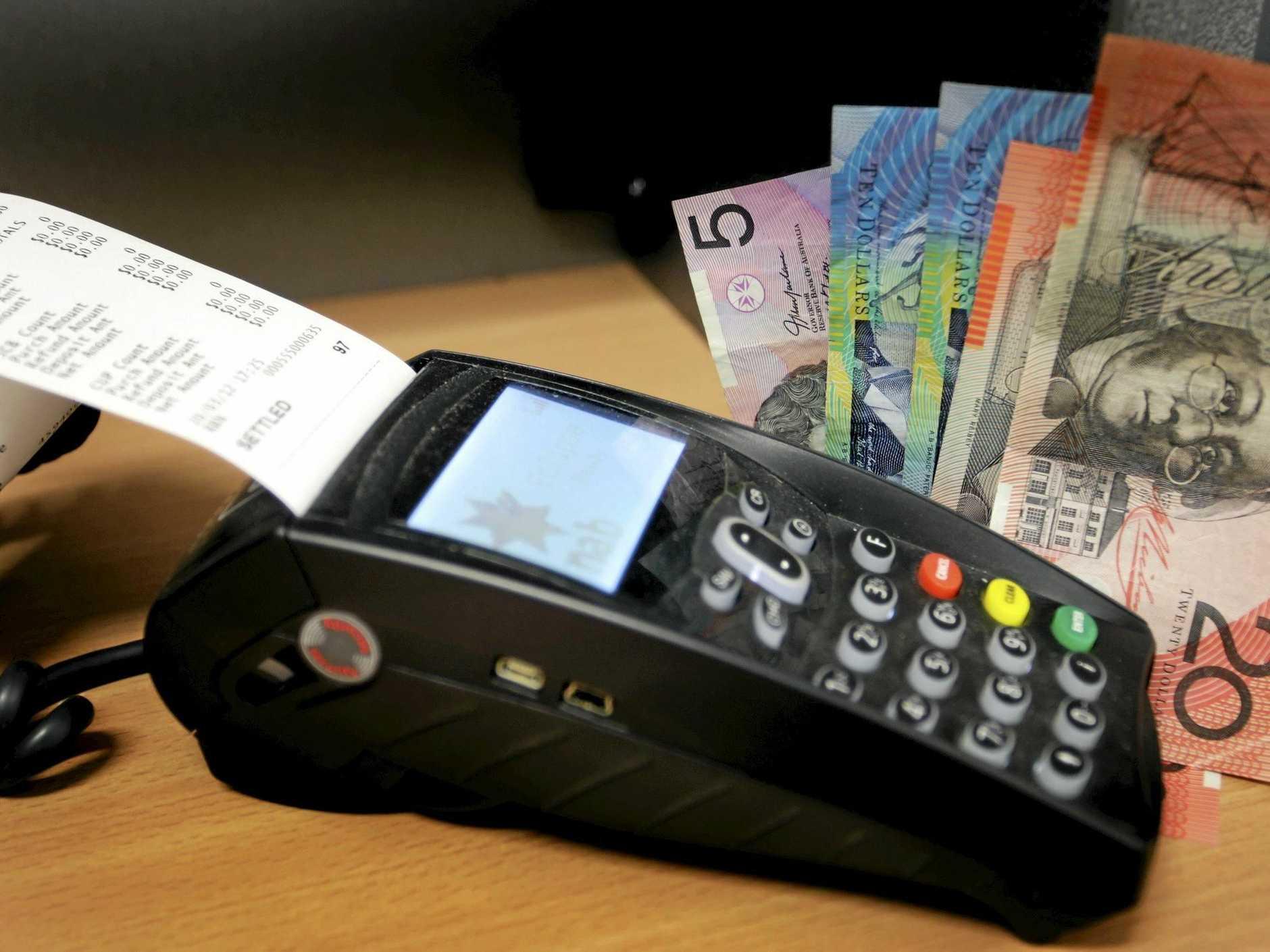 Beware of credit card scams via EFTPOS machines. Photo Vicki Wood / Caboolture News