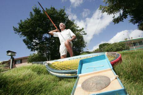 Former Commonmwealth Games javelin champion Jim Achurch