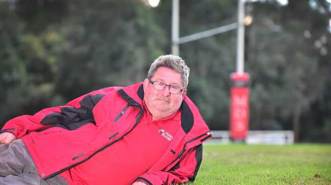 Nambour Toads Rugby Union President, Dan Parry is proud of his turf, after the ex-lan fill site gained organic certification.