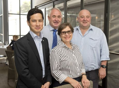 Queensland Government Trade & Investment Commissioner, Korea, Daniel Kim, Toowoomba region Mayor Paul Antonio, Australian Government Trade & Investment Queensland Australia's Geraldine Doumany and also from the trade commission, Andrew McCarrol.