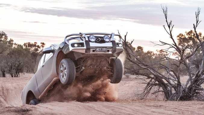 Mazda BT-50 through the South Australian Outback. Photo: Thomas Wielecki