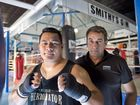 IT'S ON: Herman Ene-Purcell and Brendon Smith will prepare for a rematch with Paul Gallen. Photo Nev Madsen / The Chronicle
