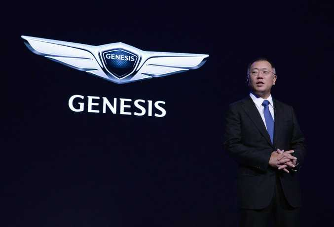 NEW BRAND: Genesis will launch six new models globally by 2020.