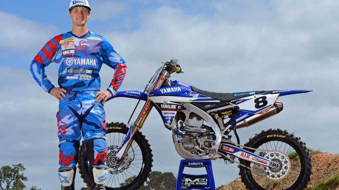 ONE TO WATCH: CDR Yamaha rider Kade Mosig will ride at Echo Valley. Picture: Sport the library / Jeff Crow