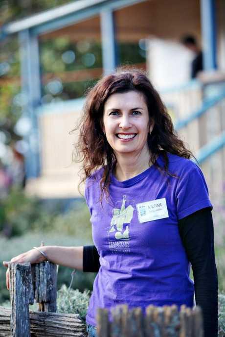 Outgoing Hampton Festival President and Event Coordinator Kerri Seccombe.