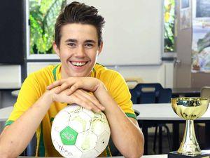 Young futsal star shines as Aussie goalkeeper