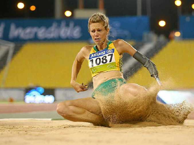 After jumping to gold at the IPC Athletics World Championships at Suhaim Bin Hamad Stadium in Doha, Qatar, Warwick athlete Carlee Beattie wants to make it more gold in the Rio de Janeiro Paralympics next year.