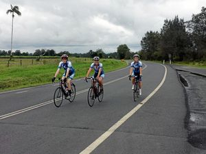 Locals ride towards cancer cure