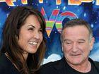 Susan Schneider and Robin Williams