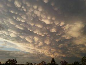Storms pass through Queensland