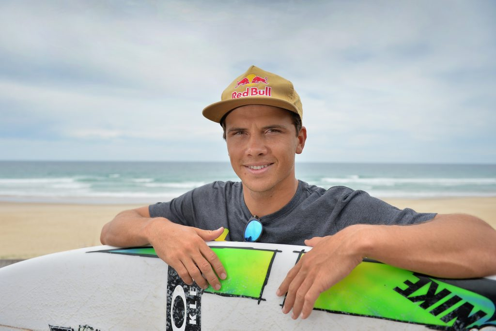 Professional surfer, Julian Wilson. Photo Patrick Woods / Sunshine Coast Daily