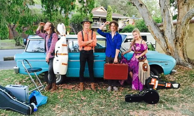 Tyalgum band The Heart Collectors will perform at The Treehouse in Byron Bay on Saturday, November 7.