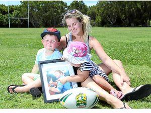 James still in their hearts: Ackerman family