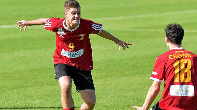 RARING TO GO: Sunshine Coast Fire youngster Jacob Fulluck is off to Sydney to try to break into the A-League.