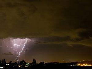 Severe storm warning for Central Queensland