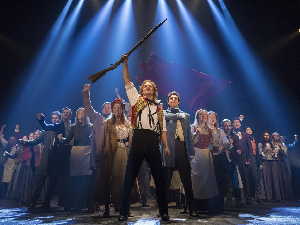 The cast of Les Miserables, which will return to Brisbane in December. One lucky reader will have the chance to win a double pass to see the hit show.