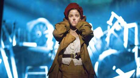 Kerrie Anne Greenland as Eponine in Les Miserables, which soon returns to Brisbane, where one lucky reader can win a double pass to see the hit musical.