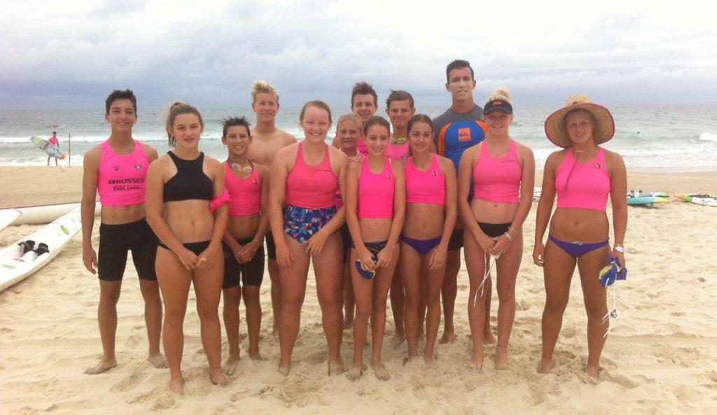 Tannum Sands cadets at Ocean 38.