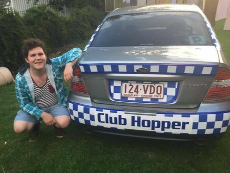 Kyle Wilkie is the man behind ClubHoppers, a free, designated-driver service for Toowoomba residents.