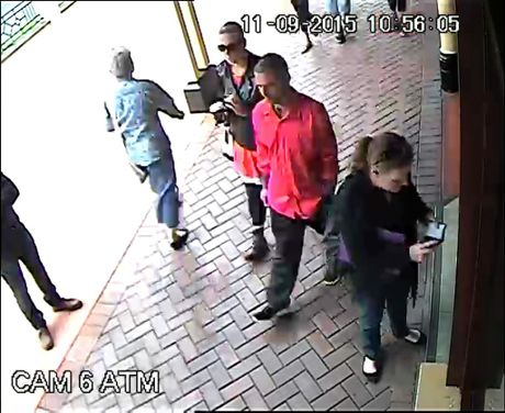 CCTV footage of Ellen Wilson at the Greater Bank in Woodlark Street, Lismore, on 11th September, 2015, the day she went missing. Photo Contributed