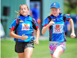 Youngsters' spirit shines on Little Athletics track