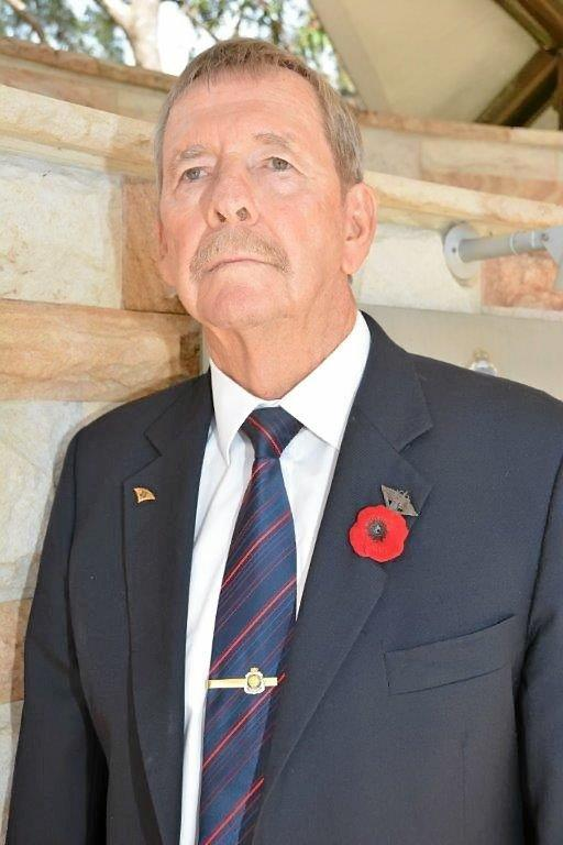 Vietnam veteran Roger Collins will mark Remembrance Day today.