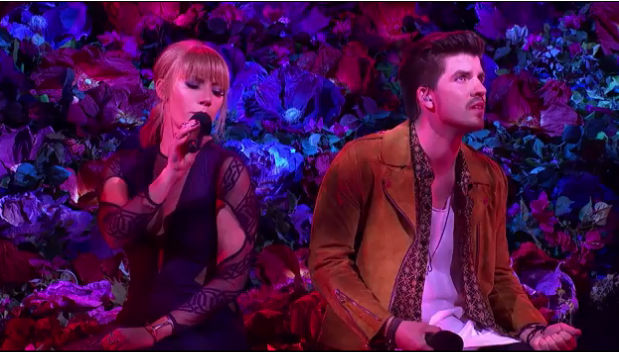 Jess & Matt perform You're The One That I Want on The X Factor.